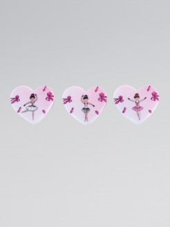 Ballerina 3 Eraser Pack
