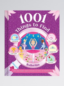 1001 Things to Find - Ballerina Book