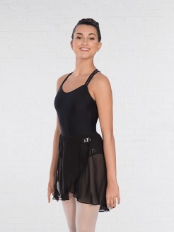 United Teachers of Dance Wrapover Chiffon Skirt