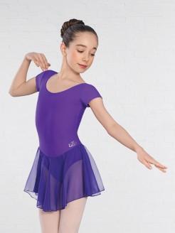 United Teachers of Dance Milly Voile Skirted Cap Sleeve Leotard