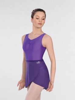 UTD Level 3-6 Ballet Purple Wrapover Skirt
