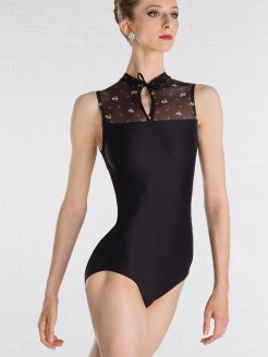Wear Moi Etna Mini Flower Manderin Leotard