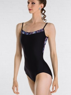 Wear Moi Jane Midnight Mesh Cami Leotard