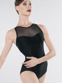 Wear Moi Merveille Tank Leotard with Strapped Back