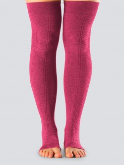 Toe sox Open Heel Leg Warmer